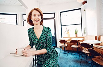 LYKKEJEGER: I boka The Happiness Project prøver forfatter Gretchen Rubin å bli en bedre venn.