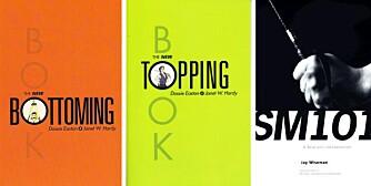 ANBEFALT LESING: Psykologen anbefaler disse bøkene til nybegynnere, samt bloggen Savage Love, som du finner på thestranger.com.