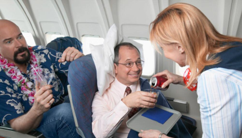 FREKKE PASSASJERER: Det hender at passasjerer er frekke og sinte på kabinbesetningen, ifølge Daniel Roten, flyvert i Ryanair. ILLUSTRASJONSFOTO: Thinkstock