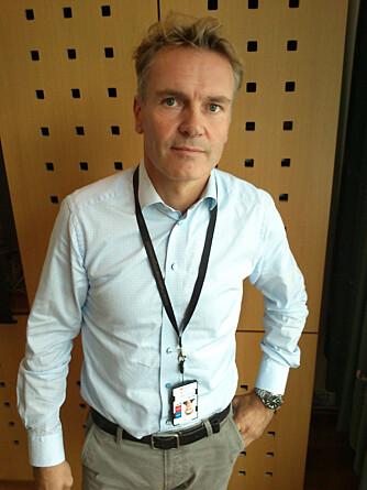 FORTELLER OM TURBULENS: Flymekaniker Roger Handeland forteller om hva konsekvensene av flyturbulens kan være.