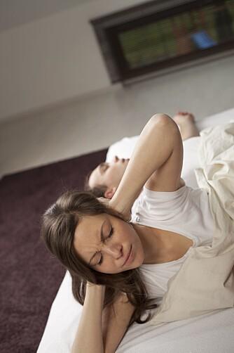 BORTKASTET TID: Samlivsterapeuten mener at det er bortkastet å bli sint over et søvnproblem, man bør heller ta ansvar for egen søvn og gjerne sove på separate soverom dersom dette hjelper.