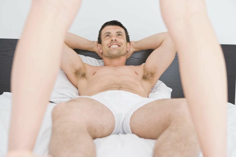 GUTTEDRØM: En av menns største fantasier: Anonym og spontan sex med en fremmed. FOTO: Thinkstockphotos.com
