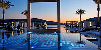 LEKKERT: Du finner flere flotte hoteller langs kysten av Albania.