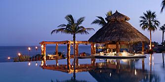LUKSUS: Det skorter ikke på lekre hoteller langs Mexicos lange kystlinje. Her er flotte Esperanza Hotel i Cabo.