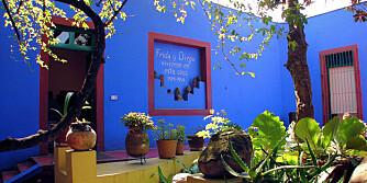 FRIDA KAHLO: Besøk det som var både hjemmet og arbeidsplassen til denne berømte meksikanske kunstneren.