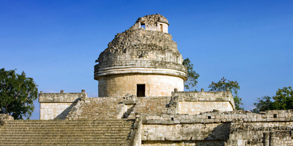 ELDGAMLE RUINER: Om du er interessert i historie og arkitektur finner du mange severdigheter å besøke i Mexico.