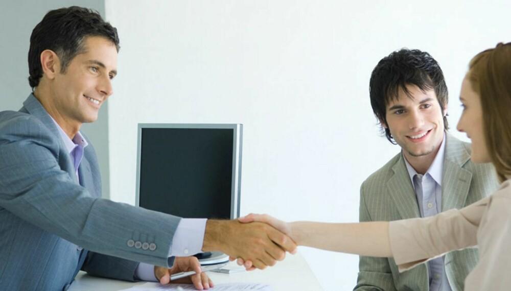 FORBERED DERE: Før dere tar kontakt med en eller flere banker, så sørg for å ha alle papirer og personlige opplysninger klar, deretter kan dere avtale med banken om å møtes.