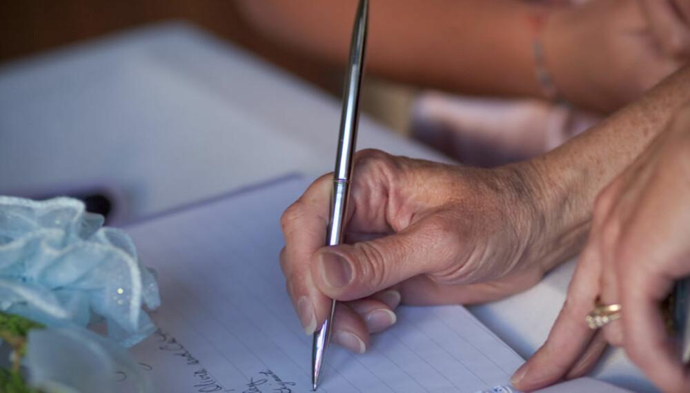 TABBE: Ikke skriv under på ektepakt hvis det innebærer at man blir svært dårlig stilt ved brudd.