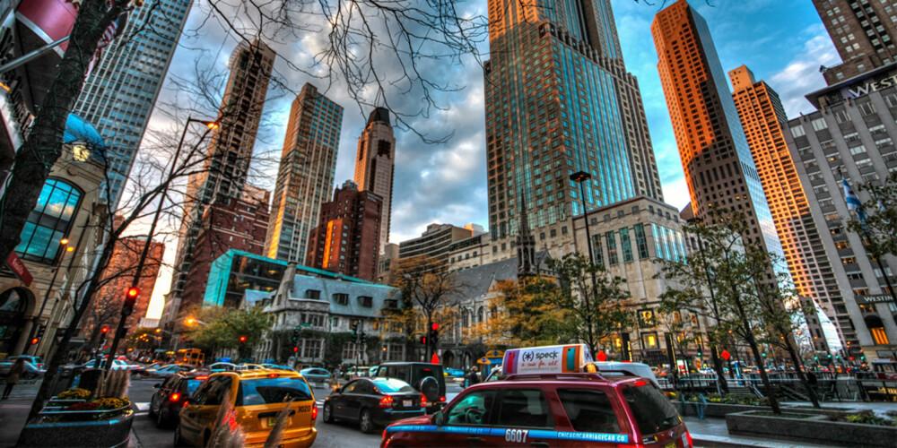 SOMMER SOM VINTER: Det er mange som slår et slag for Chicago om sommeren, men sine mange utekonsterter og festivaler. Men det er om vinter at byen viser deg hvorfor den har fått tilnavnet The Windy City.