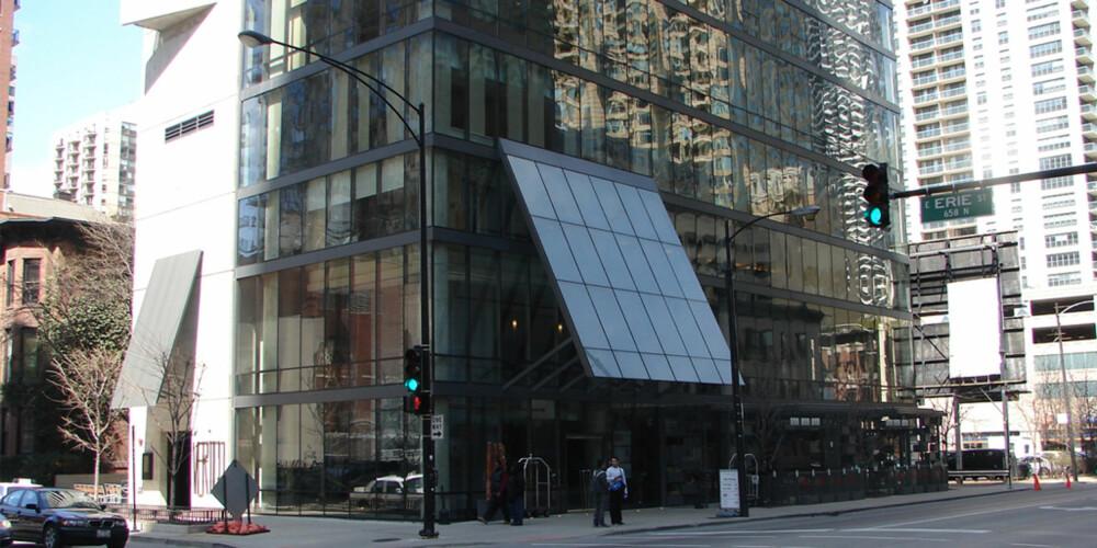 LEKRE HOTELLER: Det skorter ikke på stilige steder å sjekke inn på i Chicago.