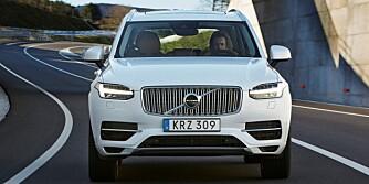 LADBAR HYBRID: Samarbeidspartienes prinsipper for kjøretøyavgiftene fremover begunstiger biler som Volvo XC90 T8 Twin Engine. FOTO: Volvo
