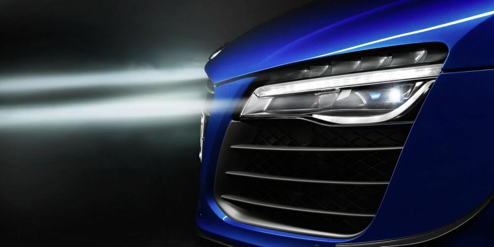 AUDI: LMX er Audis første med laserlys. FOTO: Audi