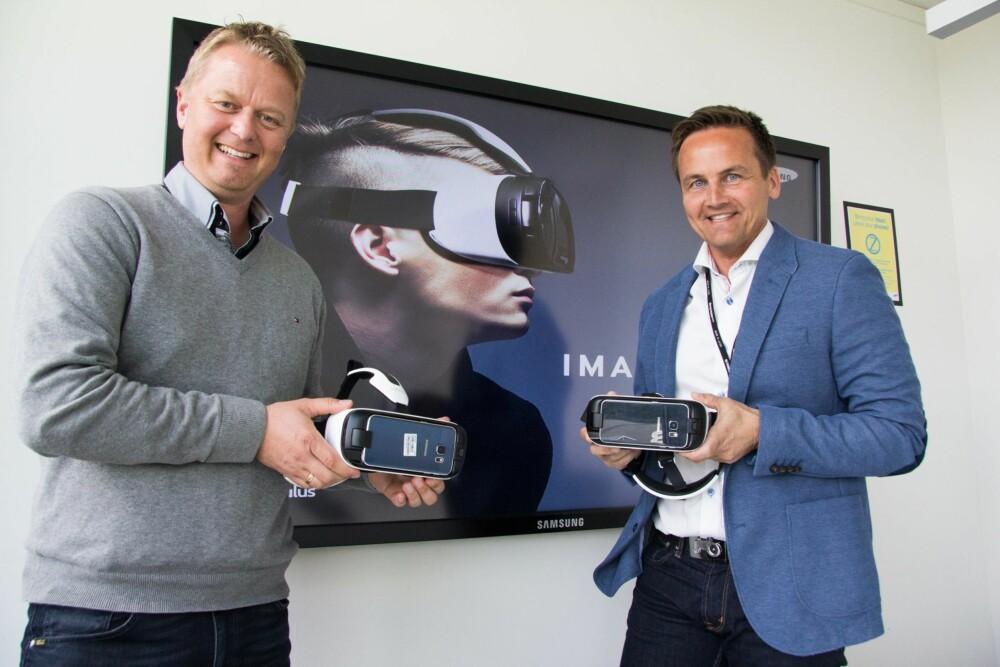 INNHOLD: Are S. Vindfallet (tv) i Making View lager 360-graders innhold som blant annet kan brukers på Gear VR. Øyvind Aasen i Samsung er ansvarlig for lanseringen av Gear VR i Norge.