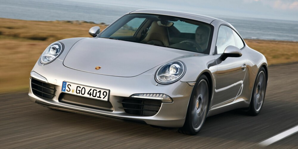911: Porsche 911 Carrera S. FOTO: Produsent