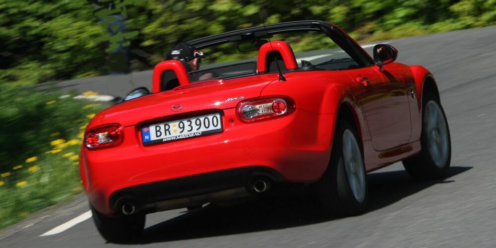 BRUKTBIL: Mazda MX-5. FOTO: Terje Bjørnsen