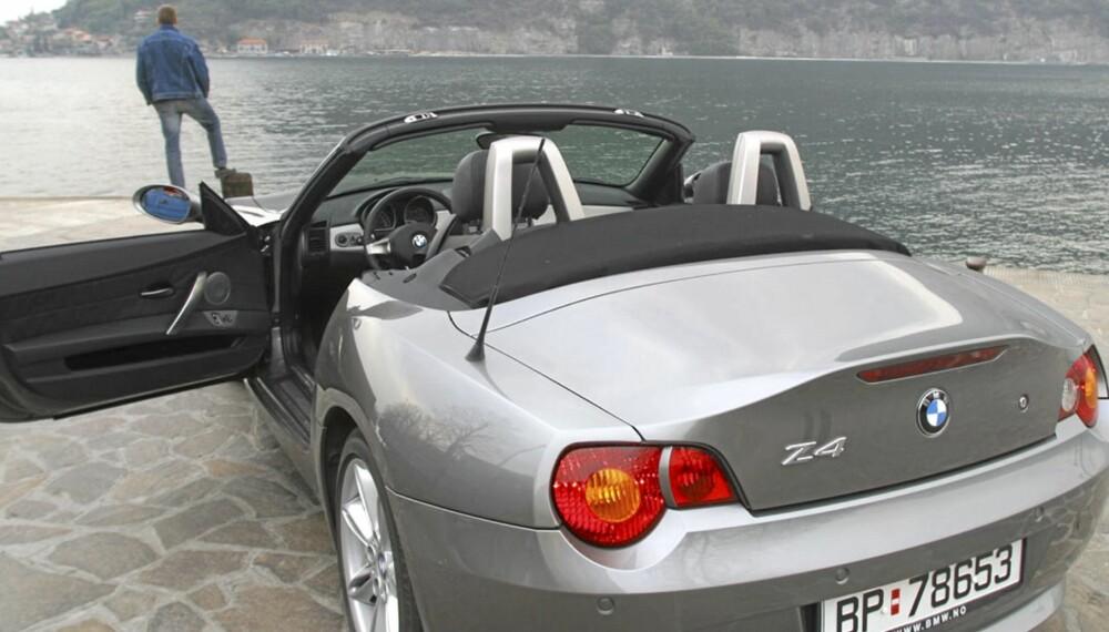 5000 KM: Herlig langtur i BMW Z3 3,0i
