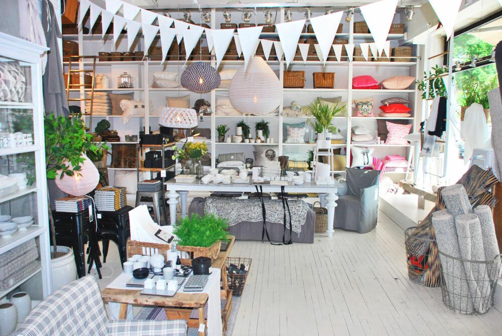 INTERIØRBUTIKKEN MED STOR I: Bolina på Stabekk har det lekreste utvalget av møbler, interiørartikler og klær.