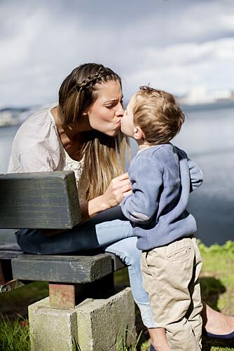 ØNSKET SEG BARN SAMTIDIG: Vi snakket alltid om at vi skulle få barn samtidig, Cecilie og jeg, så de kunne leke sammen.