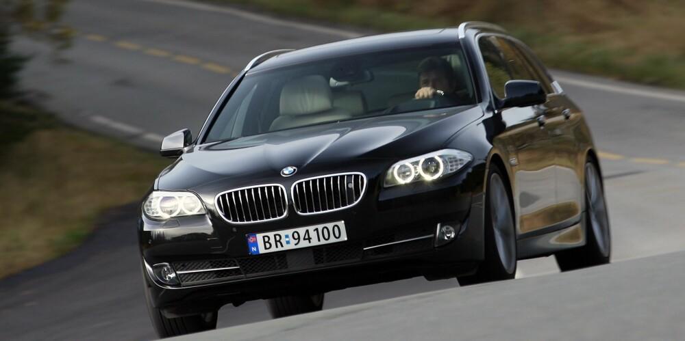 BRUKTBIL: BMW 5-serie. FOTO: Terje Bjørnsen