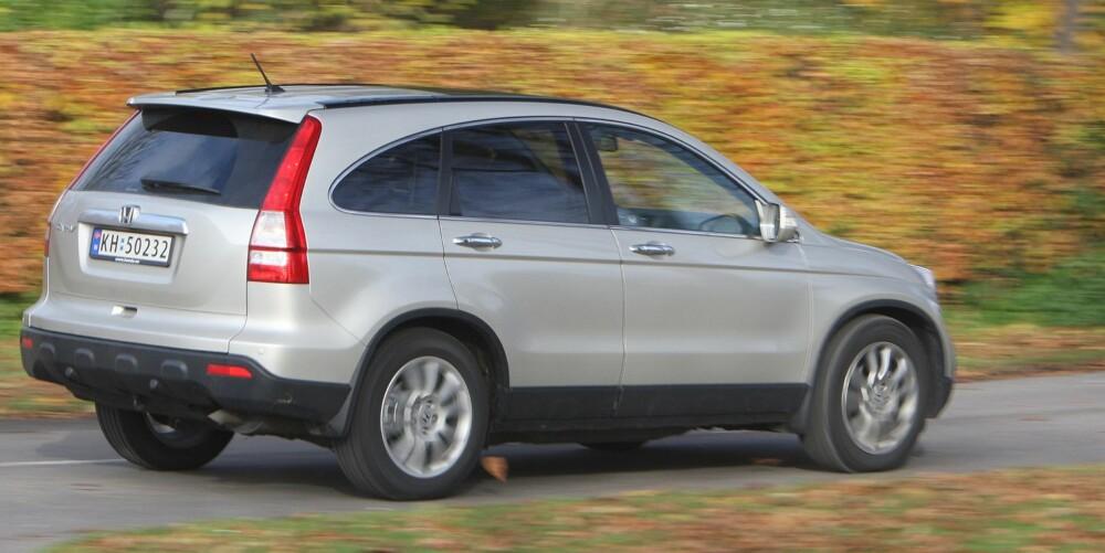 BRA BRUKT: Honda CR-V fra 2007 regnes som et trygt kjøp. Foto: Egil Nordlien, HM Foto