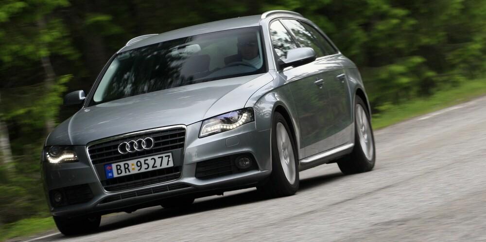 BRUKTBIL: Audi A4. FOTO: Terje Bjørnsen