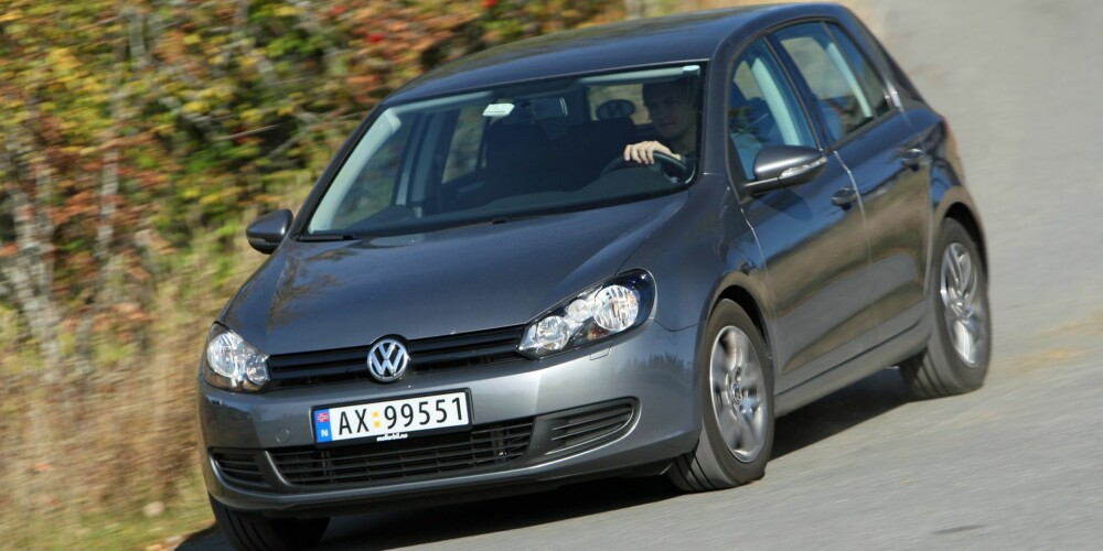 BRUKTBIL: VW Golf. FOTO: Terje Bjørnsen