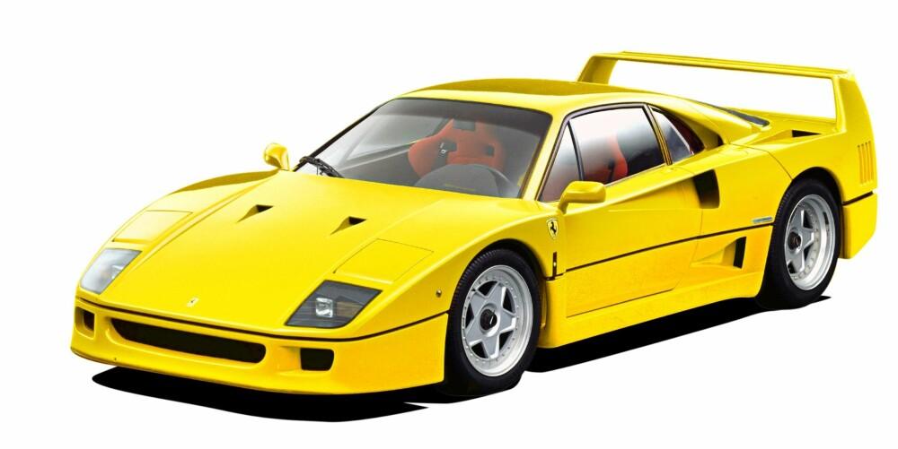 TURBOLEGENDE: Ferrari F40. FOTO: Ferrari