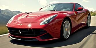 RASK: Vi har prøvekjørt tidenes raskeste Ferrari - Ferrari F12 Berlinetta.