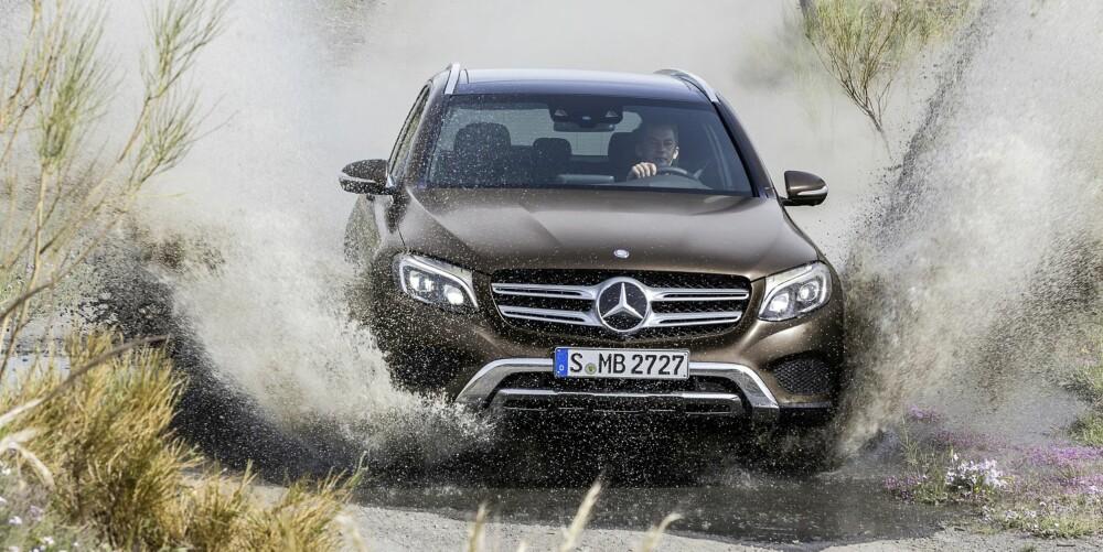 NY: Mercedes GLC. FOTO: Daimler AG