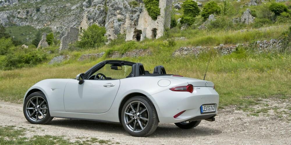 GOD BYGGEKVALITET: MX-5 er kjent for å være en solid bil. Mye tyder på at også fjerde generasjon er godt sammenskrudd.