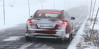 Tesla Model S vintertest langtest Oslo Gol Beitostølen Valdresflya Lillehammer hurtiglade elbil