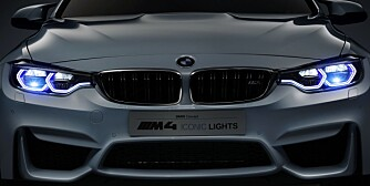 BMW M4 Concept Iconic Lights, 2015 BMW viser nye laserlys