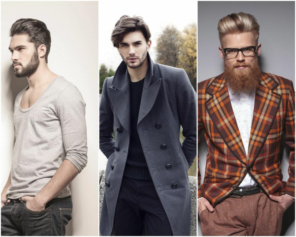 HÅRTRENDER FOR MENN: I 2015 ser vi voluminøse frisyrer, men også rene og tettklipte sider og nakker. Tekstur, matt og cleant er gode notater å ta med seg.