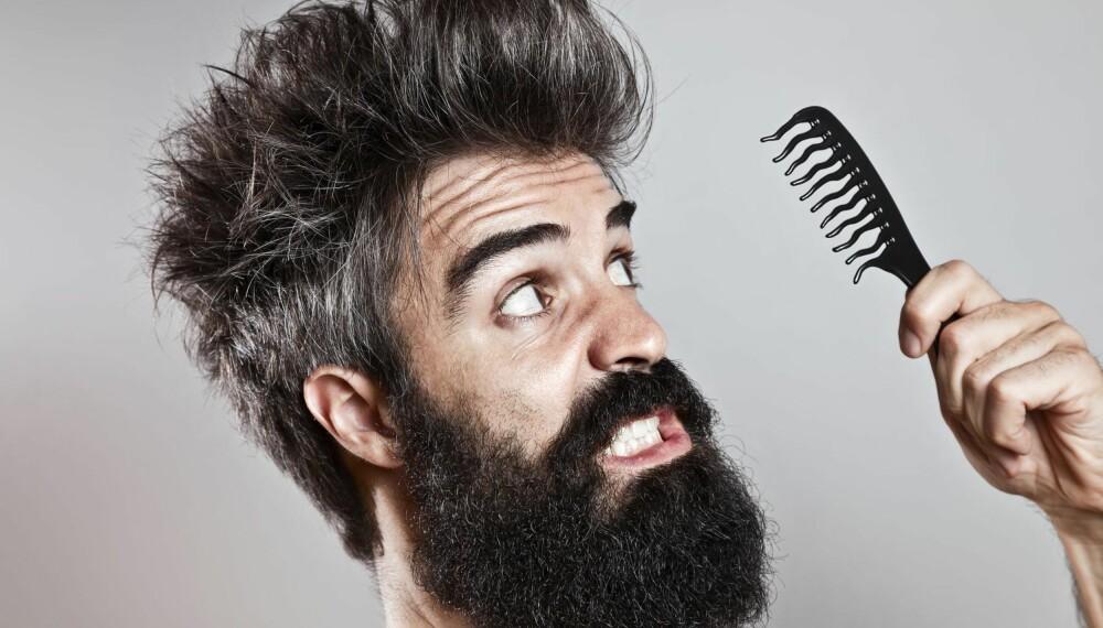 SLAPP AV: Nei da, hårstyling for menn trenger ikke være stressende, tidkrevende eller komplisert.