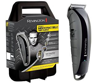 UKNUSELIG: Produsenten påstår at hårklipperen tåler et trøkk, og den derfor fint kan slenges i treningsbagen uten at den blir ødelagt. Verdi kr 999,-