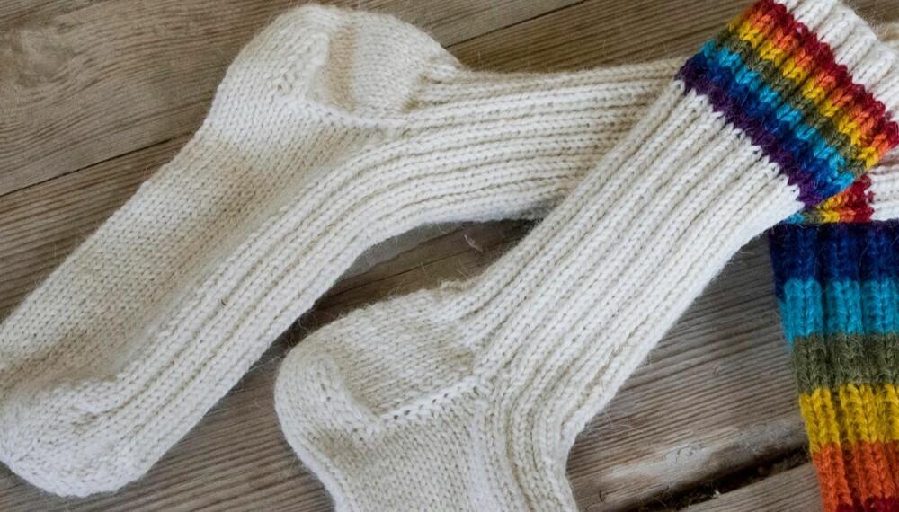 0a87d962 Sokker får man aldri nok av om man er barn eller voksen. Her får du gratis  oppskrift på varme, deilige sokker til dine små venner.