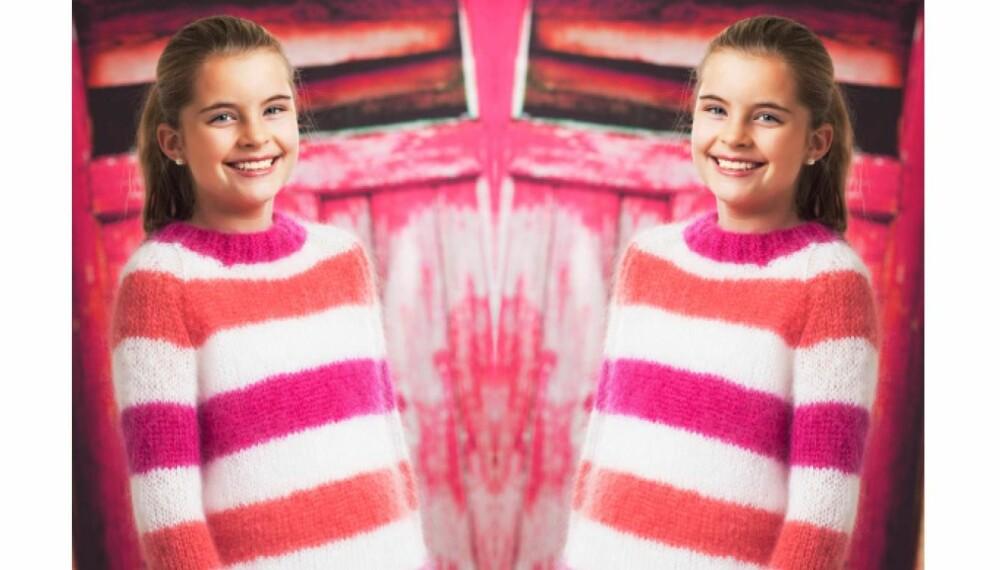 e1f64908 Her får du oppskrift på en med raglanfelling! Kjapp strikking: Kjempefin og  enkel genser i myk mohair.
