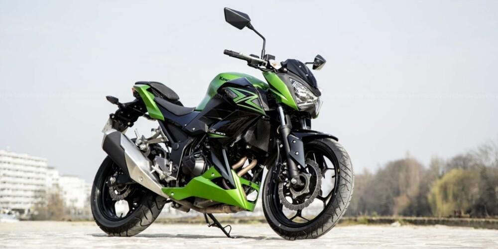 Kawasaki Z300. FOTO: Produsent