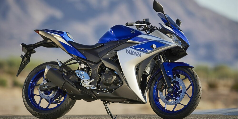 Yamaha YZF-R3. FOTO: Produsent