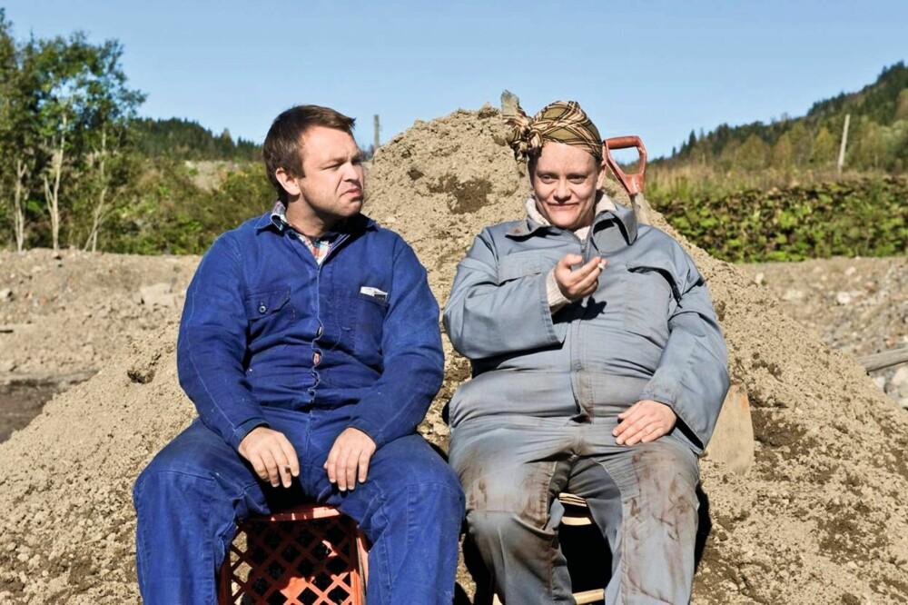HEIA NÅRJE: Henriette og John har jobbet sammen en rekke ganger, som her i TV 2-serien «Nårje».