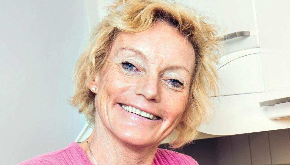 BLOMSTRER AV GLEDE: Anette Bøe er helt klar på at nå vil hun bare ha positivitet inn i livet sitt.