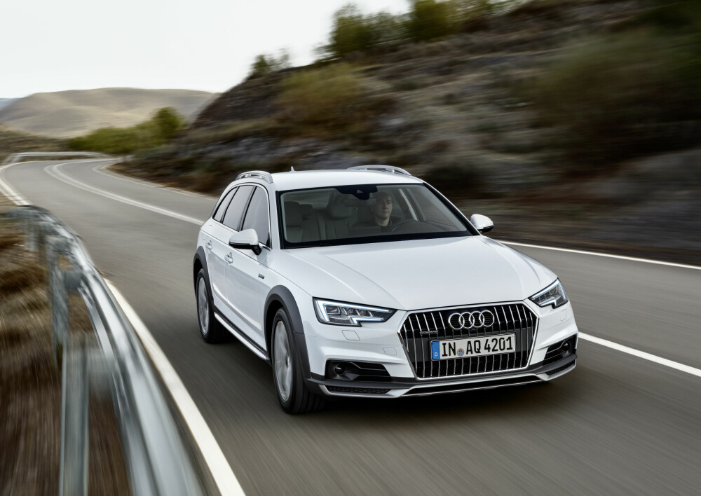 TIL SOMMEREN: Audi A4 Allroad vil være på plass i Norge rett før sommerferien. Foto: Audi