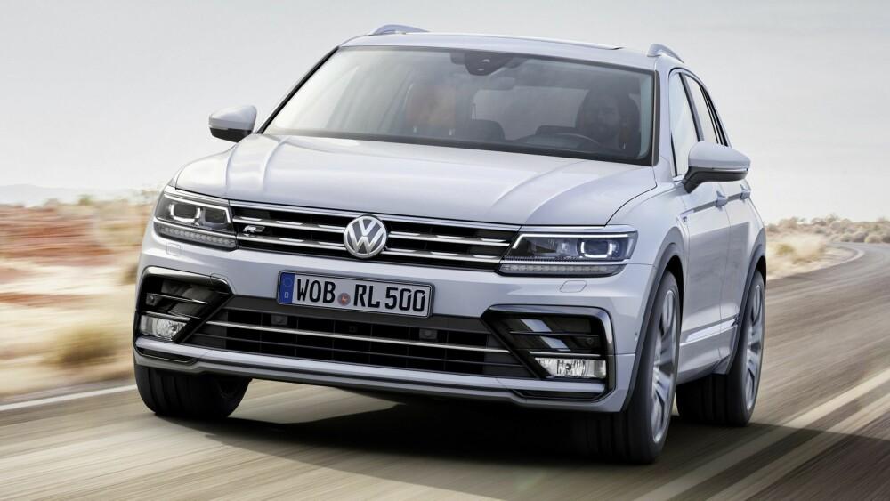 POPULÆR: Tiguan har vært en populær bil i mange år, og nå kommer det endelig en ny versjon. Foto: VW