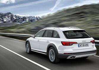 POPULÆR: Rundt 60 prosent av de norske A4-kjøperne vil ha en Allroad. Til sommeren kommer den helt nye utgaven. Foto: Audi