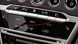 MERCEDES: Kjent førermiljø fra Mercedes. FOTO: Aston Martin