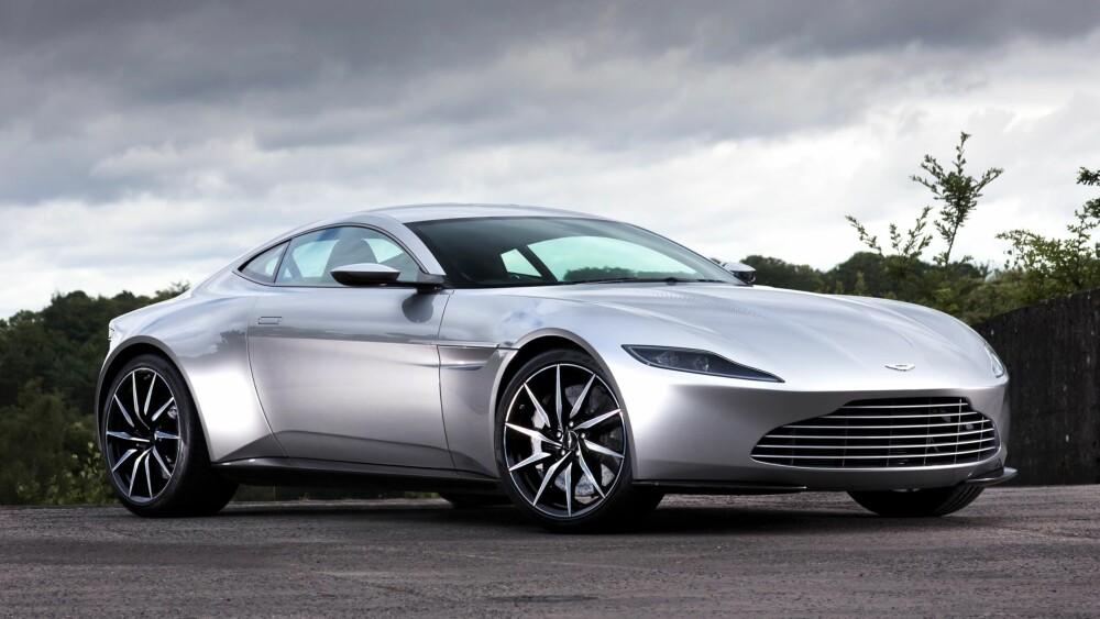 """DB10: DB11 har likhetstrekk med DB10 som ble bygget eksklusivt for James Bond-filen """"Spectre"""". Aston Martin er uløselig knyttet til 007. FOTO: Aston Martin"""
