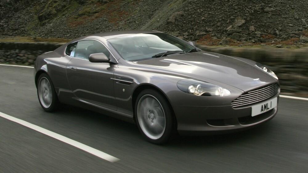 FORGJENGER: Aston Martin DB9