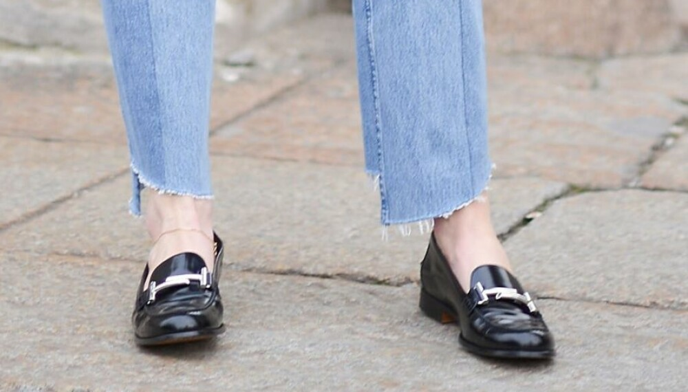 TRENDY SKO: Loafers er en sikker investering som passer til det meste.