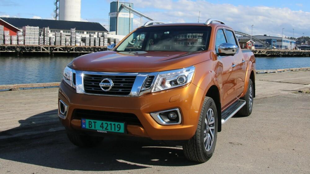 KOMFORT: Med et mer moderne understell har nye Navara fått kjøreegenskaper lik en SUV