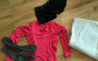 TO SKAL UT: Ullsokker og treningstøy i elastan skal ikke tromles slik som det meste av undertøy og håndklær på kokevask kan.